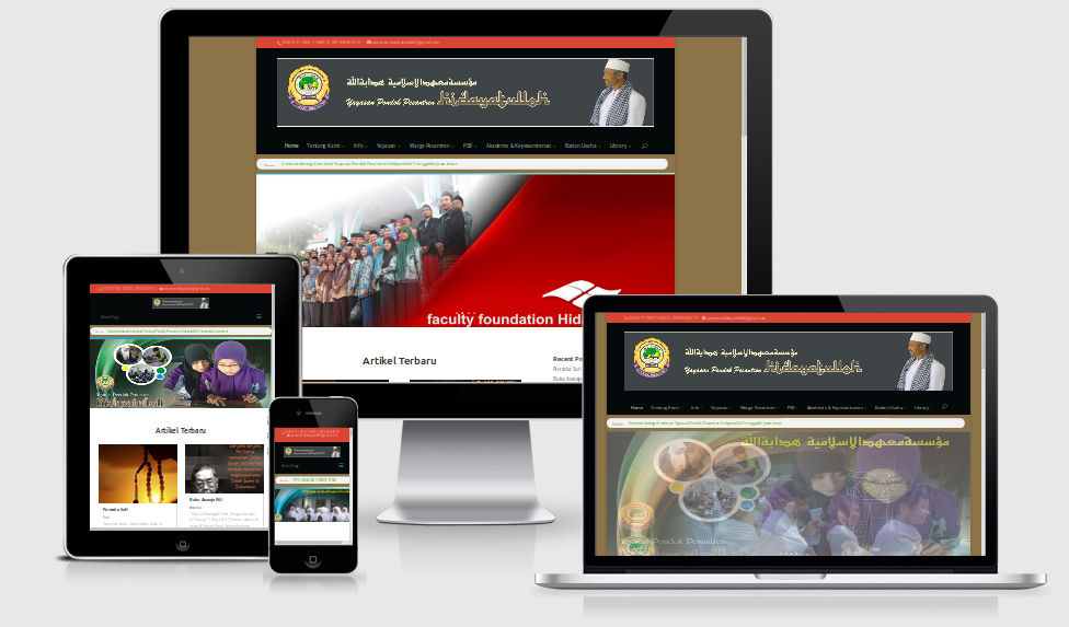 Contoh Tampilan Website Perusahaan dan Fungsinya